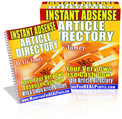 Instant Adsense Article Directory