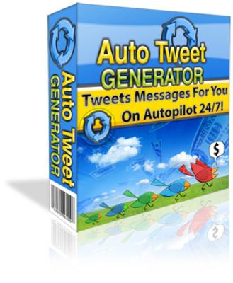 Auto Tweet Generator -schalten Sie Ihr Twitter-Acc.auf Autopilot