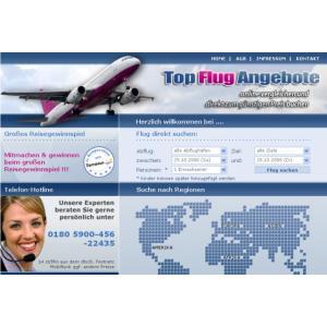 PHP Flugbuchungs Portal Script