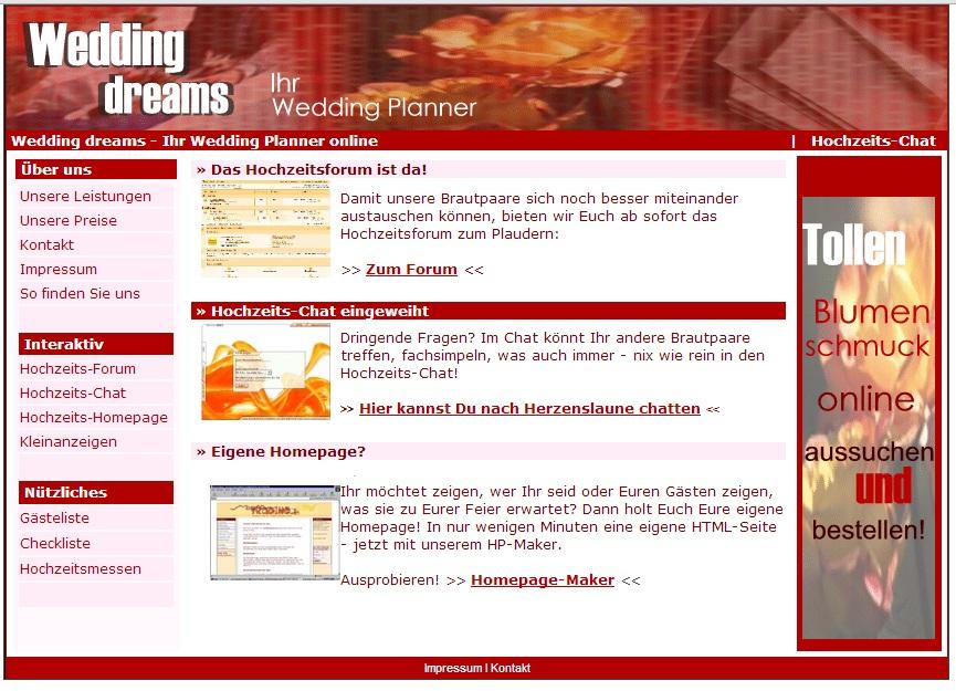 Professionelle Wedding Planer Hochzeits Planer Homepage