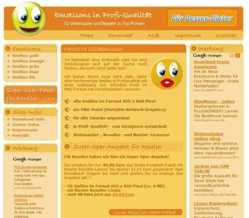 PHP Smilie Emoticon Shop Script | Geld Verdienen | PayPal Anbindung | Download