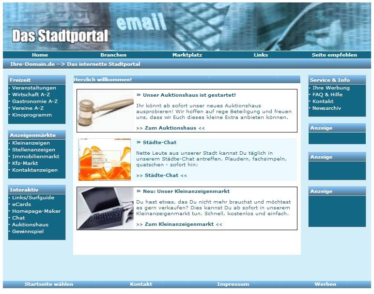 Stadt-Portal 3.0 | Geld Verdienen