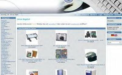 Webprojekt Computer Shop | Webseite | Portal | Geld Verdienen