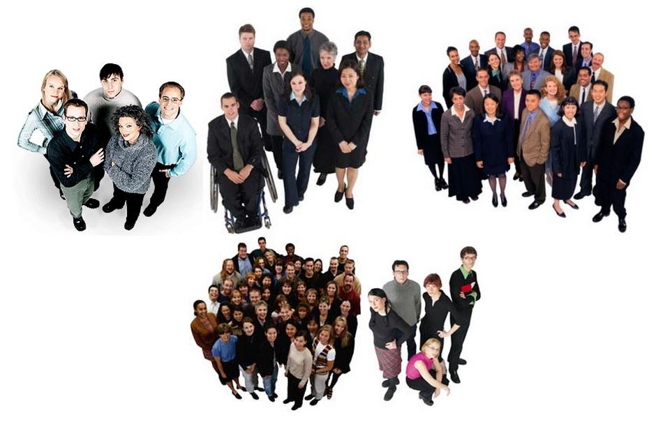 Menschen Grafiken Digitale Bilder Business Grafik Bild