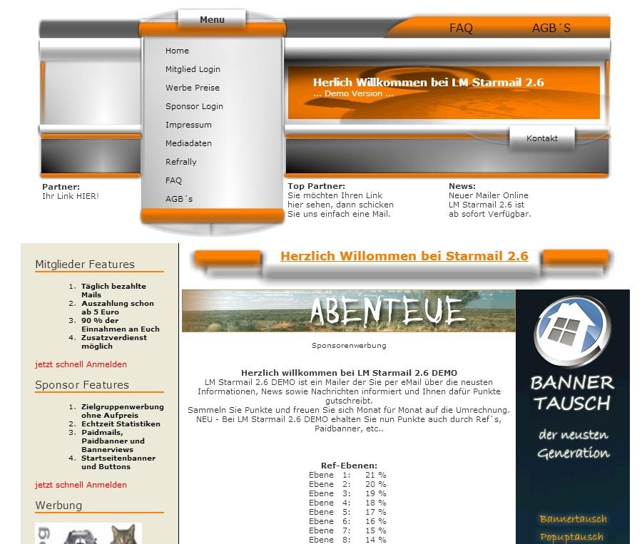 Webprojekt-Software für Ihr eigenes PaidMail-Portal | Domains | Werbung
