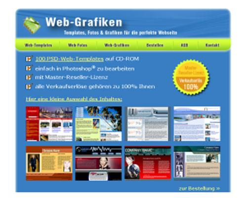Web-Grafiken-Shop Script | Webseite | Portal | Geld Verdienen