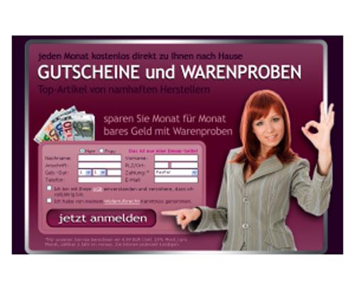Warenprobenservice Script | Webseite | Portal | Geld Verdienen