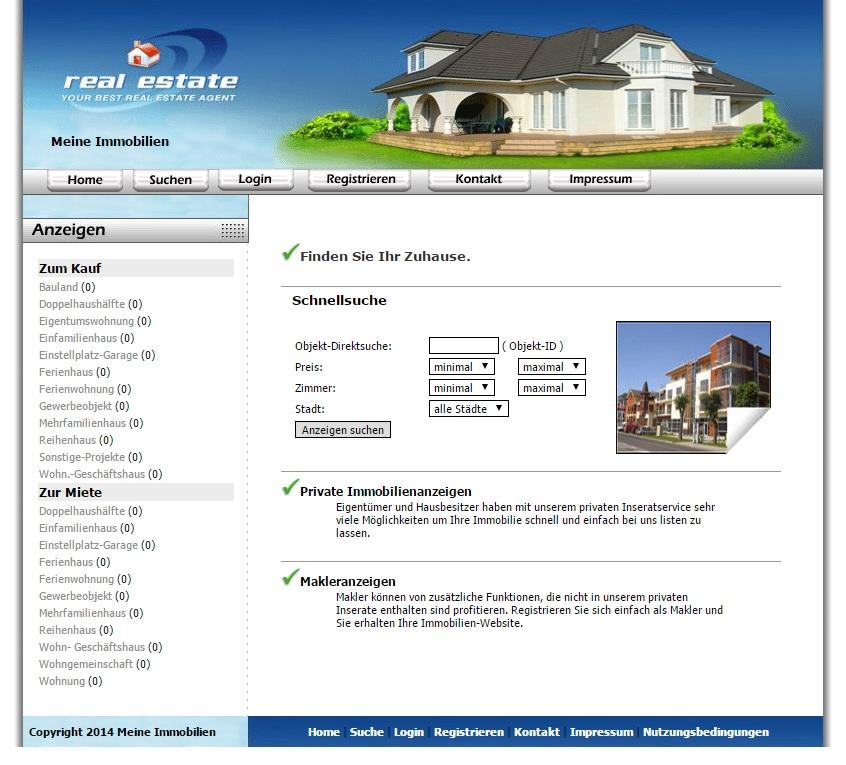 PHP Immobilien-Script.