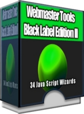 31 Webmaster Tools Black Label Edition 2