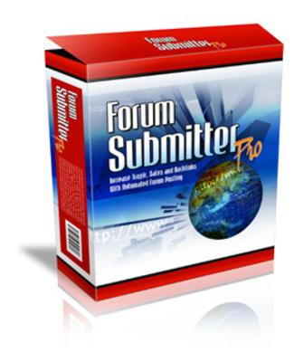 Forum Submitter Pro | Backlinks für Ihre Web Seite