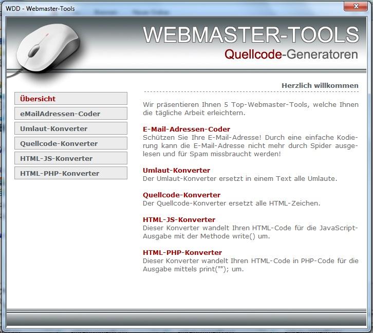 5 Mega Webmaster Tools